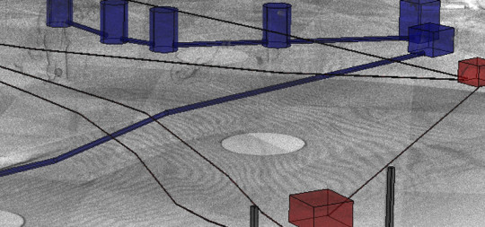 Podzemno in nadzemno kartiranje proizvodnje