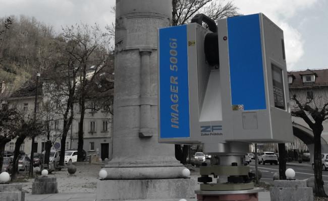 3D lasersko skeniranje dediščine